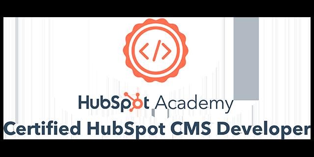HubSpot CMS Developer Certified