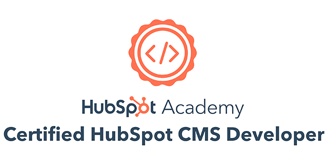 HubSpot CMS Developer Certified